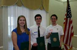 Greater Bucks Mont Chamber of Commerce Scholarship Awards